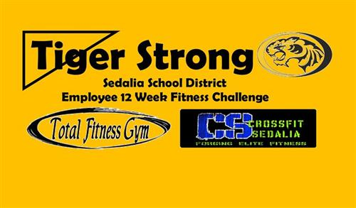 Tiger Strong Fitness Challenge logo