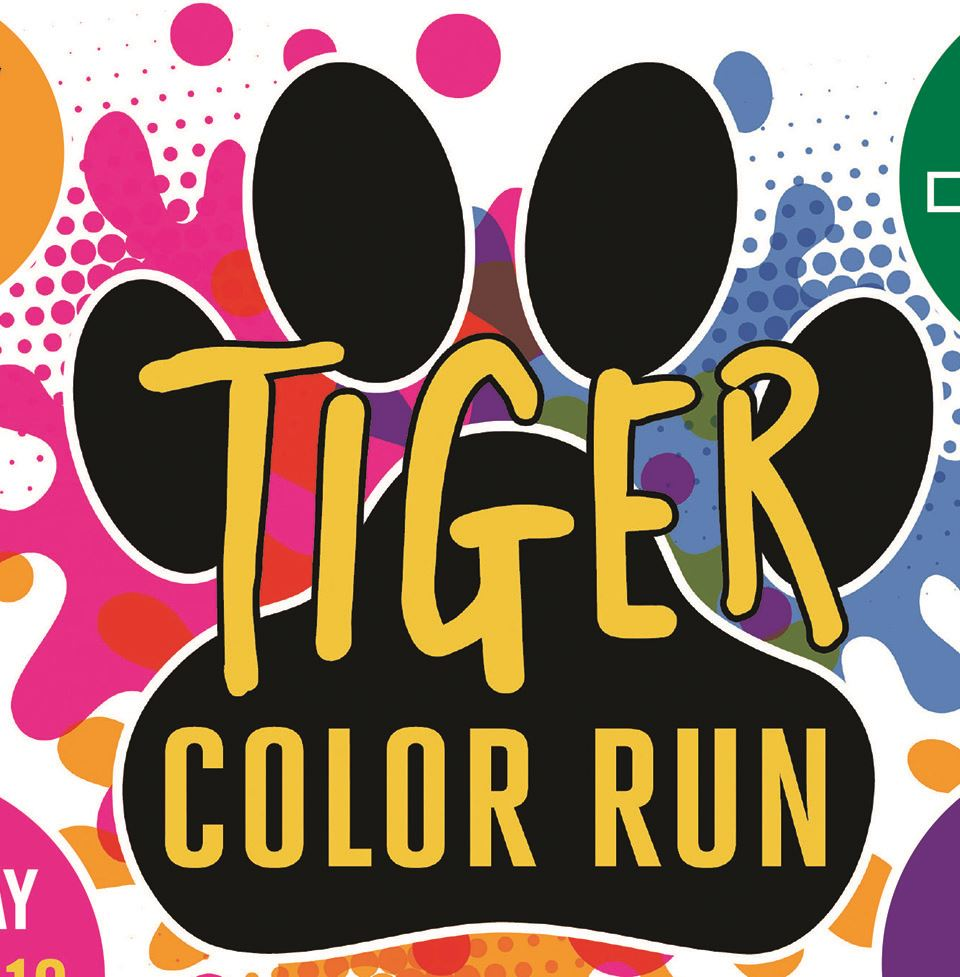 Tiger Color Run logo